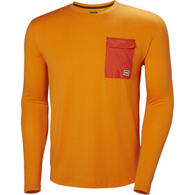 Helly Hansen Lomma - T-shirt manches longues Homme - orange